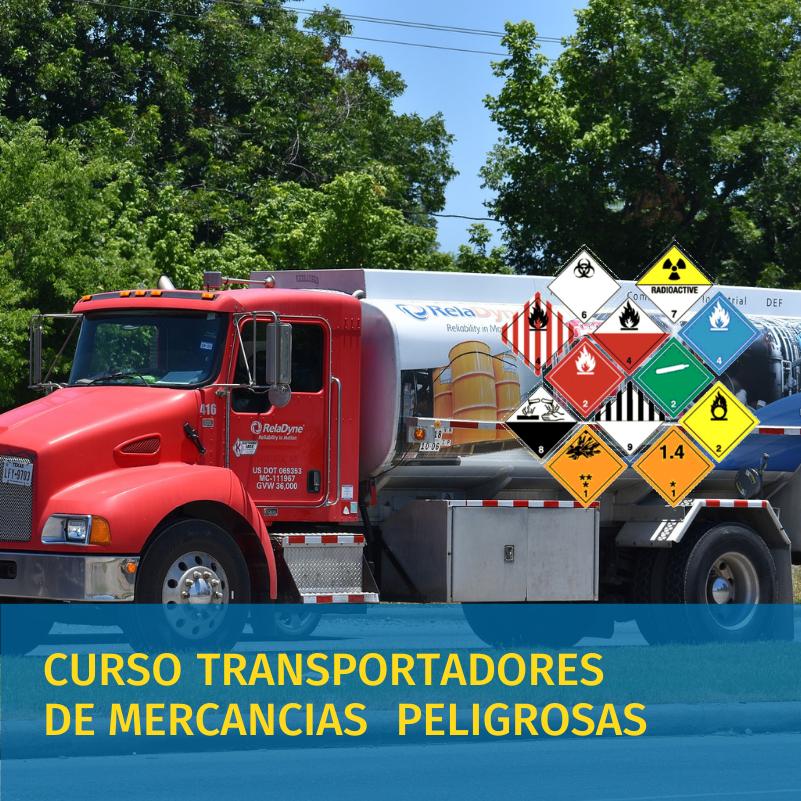 curso de trasportadores de mercancia peligrosa