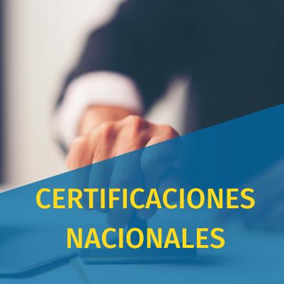 CERTIFICADOS NACIONALES cursos online